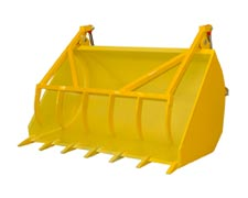 Grapple bucket